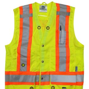 Viking Open Road Green Surveyor Safety Vest