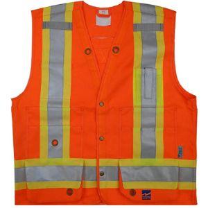 Viking Tape Safety Vest With Reflective