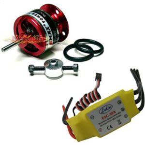 Hobbypower Speed Controller Brushless Motor