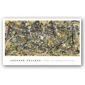 The Picture Peddler Inc. Jackson Pollock Number 8