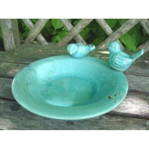 Perfect Plants Ceramic Bird Bath