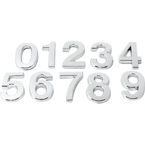 Styleinside-Uk Decal Front Door House Number