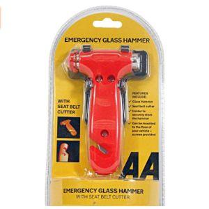 Glass Emergency Hammer
