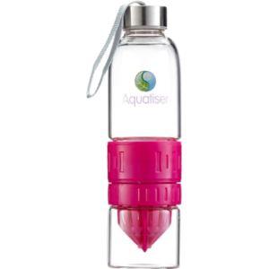 Aquatiser Fruit Infused Water Bottle Glass