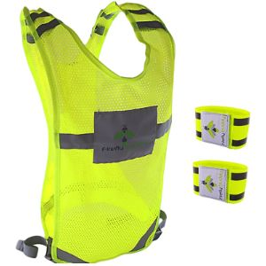 Firefly Buddy Reflective Safety Vest Running