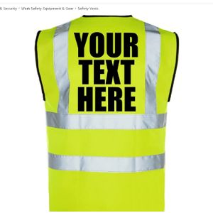 Corporate Togs Group Extra Small Safety Vest