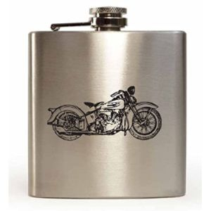 Lapal Dimension Stainless Steel Hip Flask Engraved
