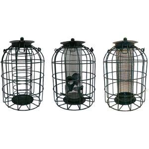 Kingfisher Caged Fat Ball Bird Feeder