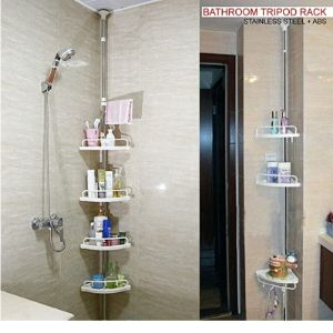 Crystals Bathroom Shelf Space Saver