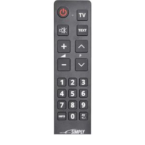 Universal Remote Elderly Tv Remote Control