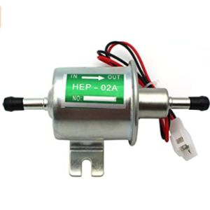 Raogoodcx Universal Low Pressure Electric Fuel Pump