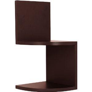 Kieragrace Espresso Corner Shelf
