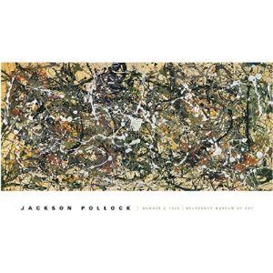 Mcgaw Graphics Jackson Pollock Number 8