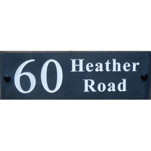 Small House Number Plaque