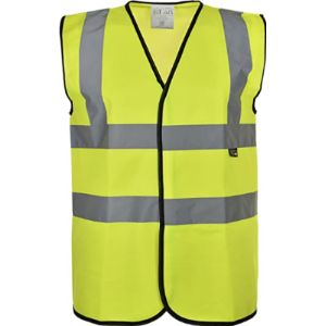 Dsp Clothing Velcro Safety Vest