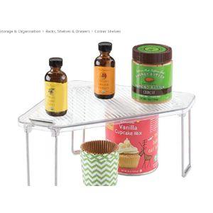 Metrodécor Kitchen Cabinet Corner Shelf