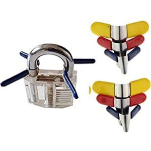 Geo-Versand Shim Combination Lock