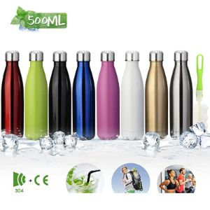 King Do Way Pink Stainless Steel Water Bottle