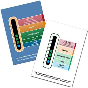 Colour Changing Products Baby Wall Thermometer