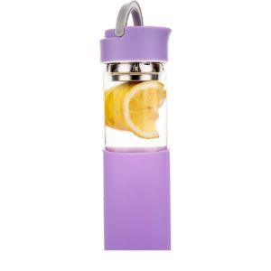 Life4U Fruit Infused Water Bottle Glass