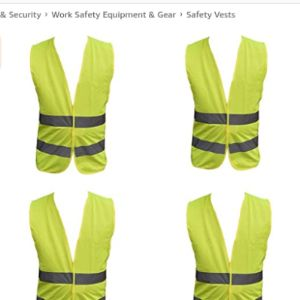 Family Motoring & Leisure Car Seat Safety Vest