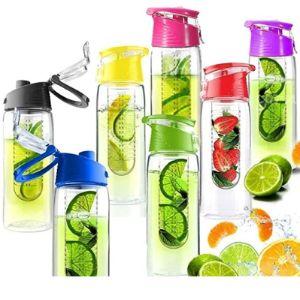 Ulook Fruit Infusing Infuser Water Bottle