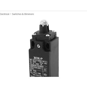 Sourcingmap Plunger Type Limit Switch