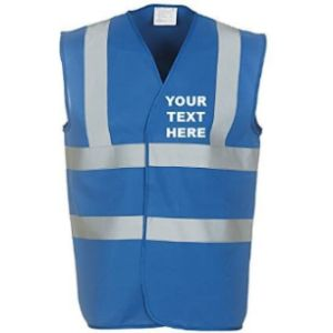 Myog Personalised Prints Personalised High Visibility Vest