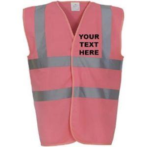 Myog Personalised Prints Hoodie Safety Vest