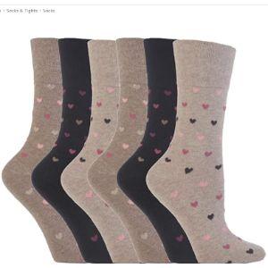 Gentle Grip Love Sock