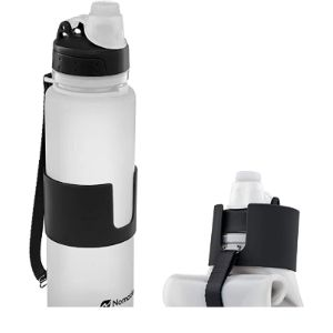 Nomader Wide Mouth Collapsible Water Bottle