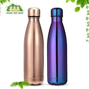 King Do Way Purple Stainless Steel Water Bottle