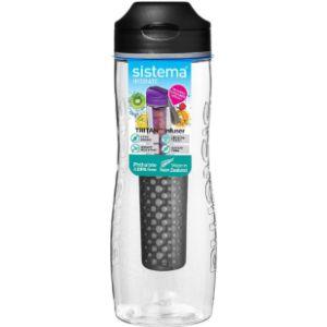 Sistema Fruit Infused Pink Water Bottle