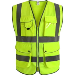Jksafety High Visibility Vest With Logo