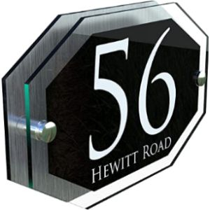 K Smart Sign Display House Number