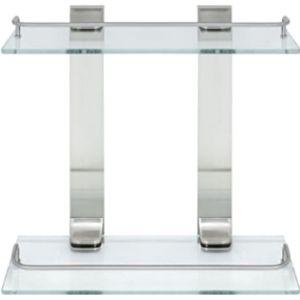 Modona Double Glass Wall Glass Shelf