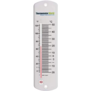 Thermometer World Large Outdoor Tube Thermometer