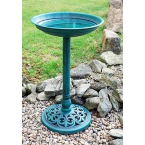 Ponze Home Series Pedestal Bird Bath