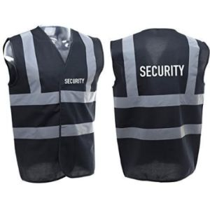 Myog Personalised Prints Security High Visibility Vest