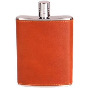 Visit The Sage Brown Store Tan Leather Hip Flask
