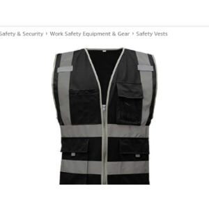 Gogo Zipper Front Safety Vest