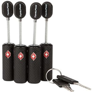 Travelmore Uniquely Designed Tsa Friendly Key Lock