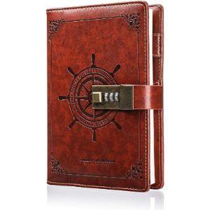 Mohoo Combination Lock Journal
