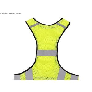 Rosenice Reflective Safety Vest Running