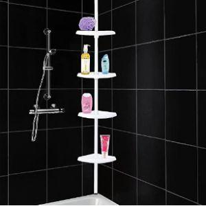 Asab Telescopic Bathroom Corner Shelf