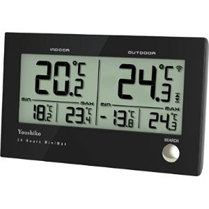 Youshiko Outdoor Digital Thermometer Wireless