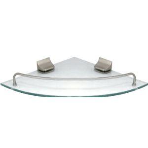 Modona Satin Nickel Bathroom Shelf