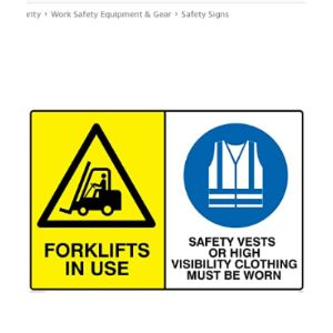 Viking Signs Symbol High Visibility Vest