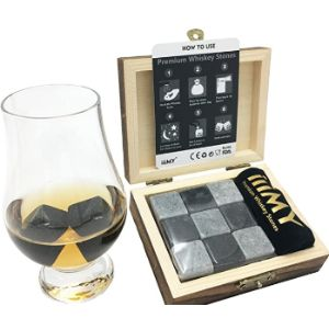 Iiimy Glass Whiskey Stone