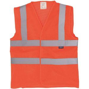 Yoko Orange Mesh Safety Vest